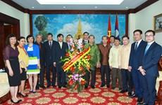 越南外交部向老挝致以节日祝福