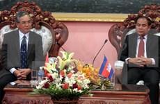 越南昆嵩省和柬埔寨上丁省加强合作