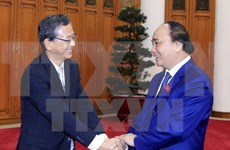 越南政府总理阮春福会见世行驻越首席代表和日本驻越大使