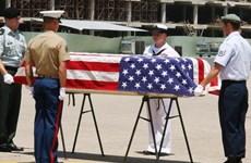 越南继续向美国移交美军遗骸