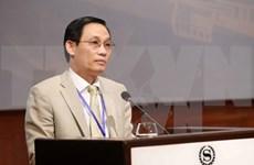 越南外交部副部长黎怀忠同中国外交部副部长刘振民举行年度会晤