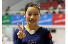 越南体操选手潘氏河清获得直通2016年里约奥运会入场券