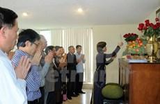 越南驻墨西哥大使馆举行敬香仪式缅怀国祖雄王