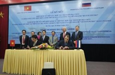 越南与俄罗斯签署地质勘查及石油开采政府间协定