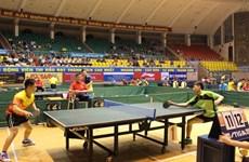 2016年黄石杯国际乒乓球比赛开赛