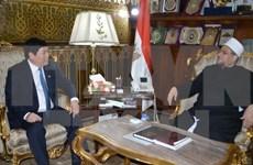 越南政府宗教委员会代表团对埃及进行工作访问