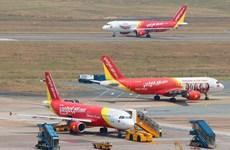 4·30和5·1假期:越捷航空公司增加航班数量