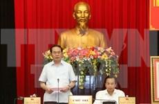 越南国家主席陈大光赴岘港市调研