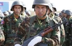 柬埔寨派出200多名官兵执行联合国维和行动