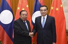 中国与老挝促进全面战略伙伴关系