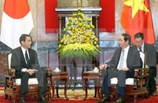 越南国家主席陈大光:日本是越南头等重要且长期的合作伙伴