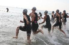 越南2016年铁人三项比赛在岘港市举行 共1150名运动员参加