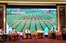 越南广宁省吸引对农业领域的投资