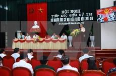 越南政府总理阮春福接触海防市选民