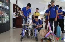 2016年越南全国大学生机器人大赛决赛在宁平省开赛