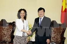 郑廷勇副总理:越南关注并支持各部委、各地方与云南省乃至中国各地间的合作