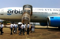 奥比斯眼科飞行医院为九龙江三角洲眼病患者免费手术治疗