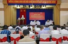 越南南部地区19个省市选举工作交班会在平阳省举行