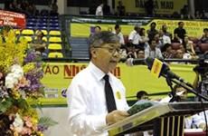 第34届《人民报》全国乒乓球锦标赛在越南胡志明市举行