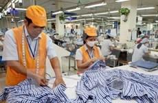 2016年前4个月越南纺织品和鞋类出口额达105亿美元