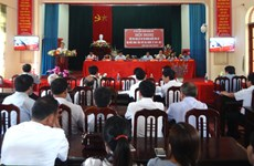 国会和各级人民议会换届选举:富寿省山区选民喜迎选举日