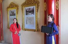"""""""在越南的世界文献遗产""""展览会亮相顺化大内"""