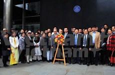胡志明主席诞辰126周年纪念活动在英国举行
