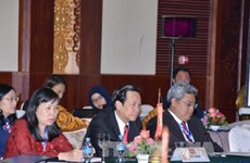 第九届东盟与中日韩三国劳工部长级会议在老挝万象举行