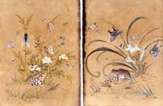 韩国民间传统绘画艺术亮相越南
