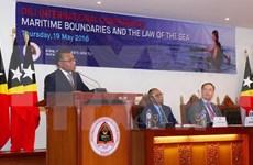 东帝汶举行海上分界线和海洋法的国际会议