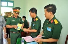 越南选举日临近:全国各地纷纷举行提前投票