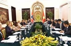 第八次越南和挪威外交副部长级政治磋商会在河内举行