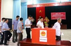 新一届国会和各级人民议会换届选举:富寿省选民踊跃参加投票