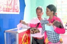 第十四届国会和各级人民议会代表换届选举日真正是全民同乐日