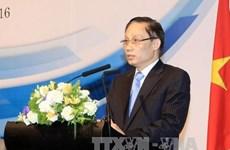 越南外交部副部长黎怀忠会见中国广西壮族自治区党委书记彭清华