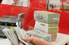 越南国家银行越盾兑换美元中心汇率较前一日下跌3越盾