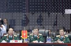 第十届东盟国防部长会议在老挝首都万象开幕