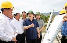 越南政府副总理郑廷勇赴宁顺省调研