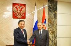 越南与俄罗斯加强安全合作