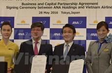 越航与日本ANA Holdings签署股份收购协议