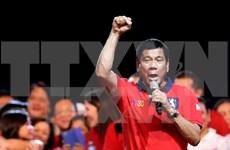 越南领导致电祝贺杜特尔特当选菲律宾总统