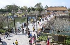 今年前5月顺化古都遗迹区接待游客量100多万人次