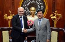 新西兰希望发展同越南各领域合作关系