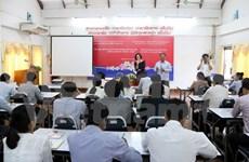 越南继续为老挝记者队伍提供培训