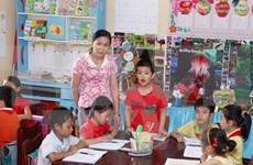 胡志明市积极响应2016年为了儿童行动月活动