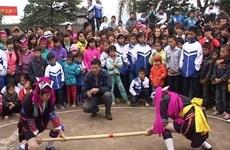 维护和发展民族体育项目——推杆