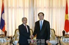 越南国家主席陈大光访问老挝期间开展系列活动