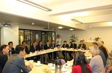 越南祖国阵线中央委员会主席阮善仁对挪威进行工作访问