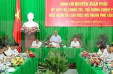 越南政府总理阮春福:完善发展规划是芹苴市的核心任务