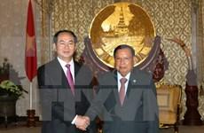 老挝媒体:越老承诺加强两国特殊关系